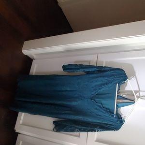 H&M lace maternity dress